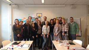 PaletteV2 project team at the meeting in Utrecht